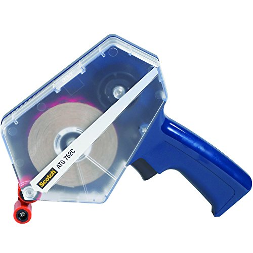3M 752 Adhesive Transfer Tape Dispenser, Blue, 1/Each, 3M Stock# 7010374918