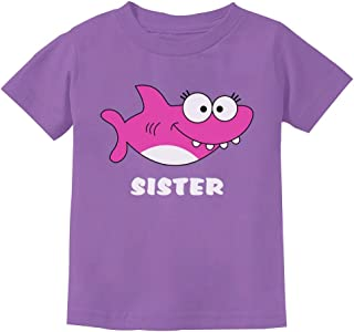 Shark Shirt for Sister Big Sister Toddler Kids T-Shirt