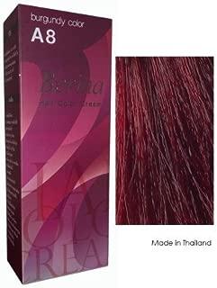 Berina Hair Color Cream Permanent A08 -Burgundy color