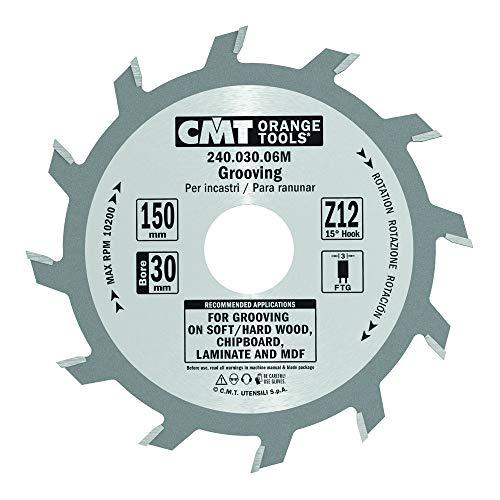 CMT Orange Tools 240,030,06 m scie circulaire à rainer 150 x 3 x 30 z 12 droite
