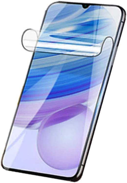 [2Pcs] Hydrogel Film for Xiaomi Redmi Note 9S / Redmi Note 9 Pro,TPU Soft Full Cover Screen Protector (Transparent,not Glass Film)
