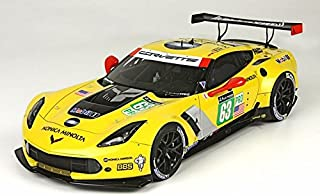 2015 Corvette C7.R LM GTE Pro 24 Hr LeMans # 63 Limited Edition Model Car in 1:18 Scale by BBR