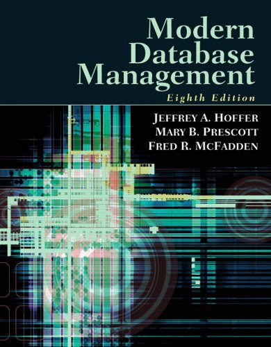 Modern Database Management (8th Edition)