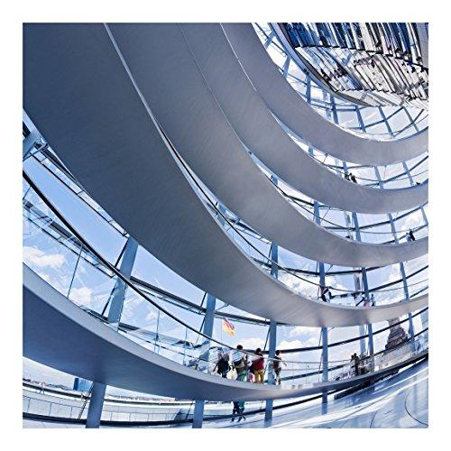 Vliestapete Im Berliner Reichstag, HxB: 336cm x 336cm