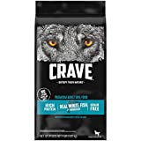 CRAVE Grain Free Adult High Protein Natural Dry Dog Food with Protein from Salmon and Ocean Fish, 4 lb. Bag