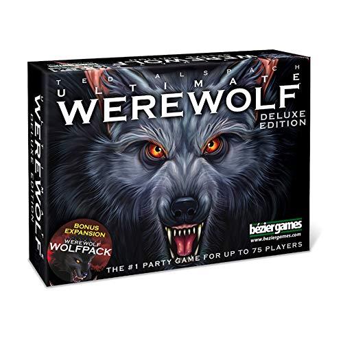 M-GLT Deluxe Edition One Night ultimative Werwolf - Karte Brettspiele - Party-Spiel - 3 bis 10 Spieler - Deutsche Version