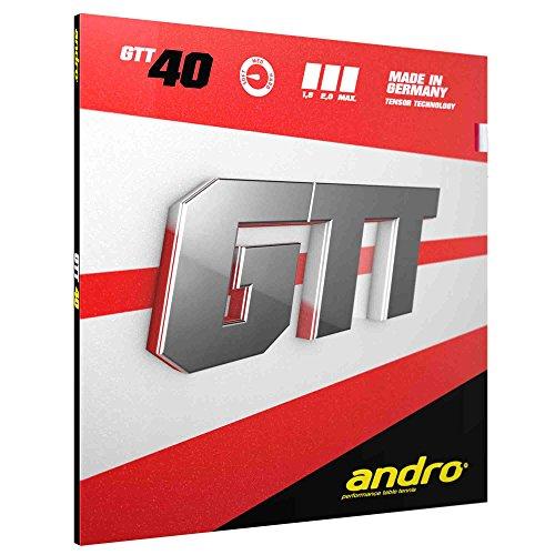 ANDRO Belag GTT 40 Optionen 1,8 mm, schwarz