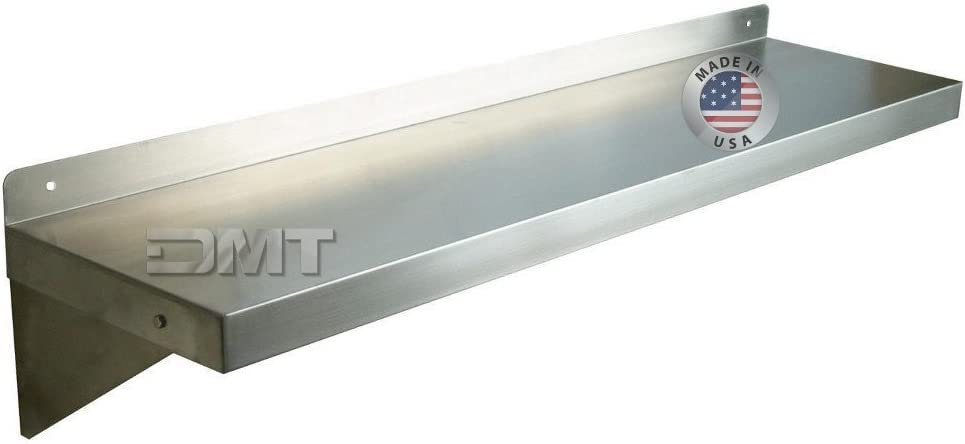 DMT Stainless Wall Max 61% OFF Bombing free shipping Shelf. 48