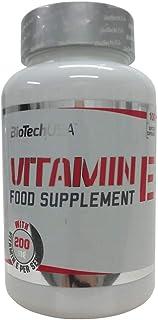Biotech USA VITAMIN E - 200mg - 100 perlas aceitosas