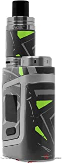 Skin Decal Wrap for Smok AL85 Alien Baby Baja 0023 Lime Green Vape NOT Included