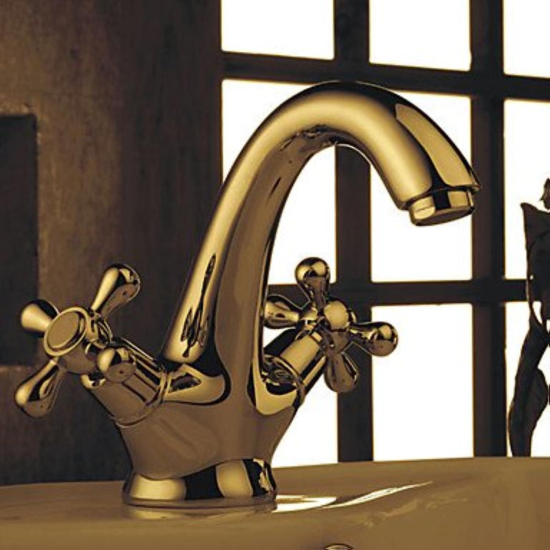 HMer Two Handles Ti-PVD Centerset Sink tap 0913-J-209