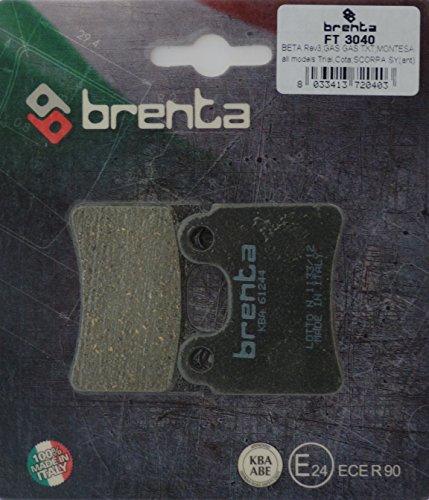 Brenta Plaquettes de Frein organiques moto pour Alp, Beta, , , , mETRAKIT, os