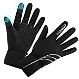 MASONTEX Winter Gloves Windproof Anti-Slip Touchscreen Gloves for Men and Women Running Cycling Motorcycle Skiing Outdoor Sports