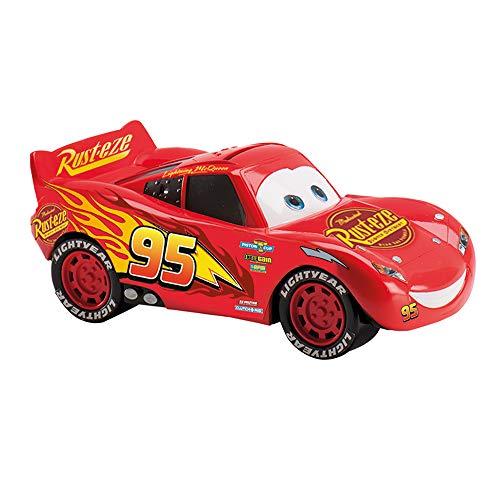 Dekora 204012 Disney Cars Lightning McQueen Kinder Spardose mit Scheine aus Esspapier, rot