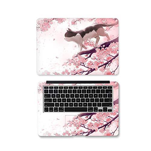 Adhesivo decorativo para ordenador portátil, diseño de flor de 12 pulgadas y 15,6 pulgadas de piel para Xiaomi Air 13.3 / ASUS / Macbook Pro/Acer/HP/Lenovo -Xt-624-14