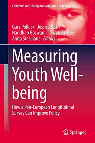 Measuring Youth Well-being: How a Pan-European Longitudinal Survey Can Improve Policy (Children's Well-Being: Indicators and Research Book 19) (English Edition)