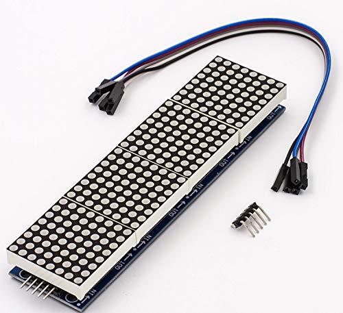 Movilideas Matriz LED 8 x 32 - Módulo de Matriz - Pantalla LED MAX7219