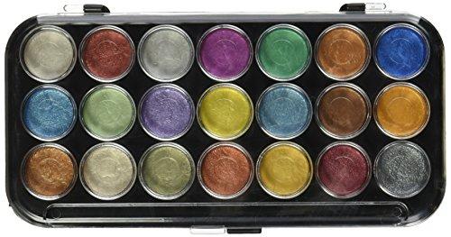 Yasutomo Peinture Aquarelle nacré gâteaux 21/Pkg-Divers Coloris