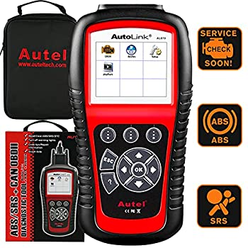 Autel AutoLink AL619 OBD2 Scanner ABS SRS Airbag Scan Tool Turn Off ABS Airbag Warning Lights Ready Test Advanced Ver of AL519 ML519