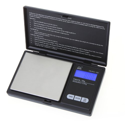 VENJA (LABEL) Mini Electronic Digital Pocket Scale Jewellery Weighing Scale 0.1G To 500G