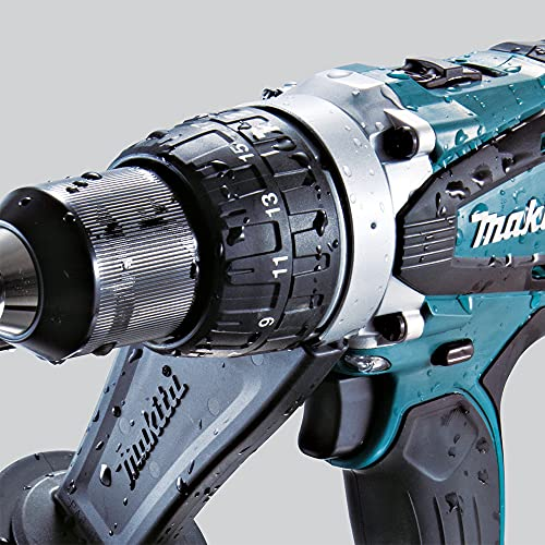 Makita DHP458Z Perceuse Visseuse à Percussion 18 V Li-Ion Ø 13 mm (Machine Seule)