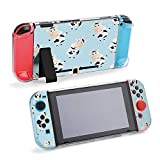 SUPNON Pattern with Cartoon Cute Toy Cow Compatible with Nintendo Switch Console & Joy-Con Protective Case, Durable Flexible Shock-Absorption Anti-Scratch Drop Protection Cover Shell Design17507