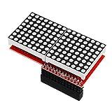 PULLEY -L 8x16 MAX7219 módulo de pantalla de matriz de puntos LED para Arduino L