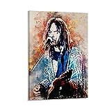 sheyin Neil Young Kunstdruck auf Leinwand, modernes Design,