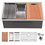 33 Kitchen Sink Undermount - Lordear 33' x 19'...