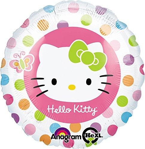 Amscan - Globos Hello Kitty (Amscan International 118230-02)