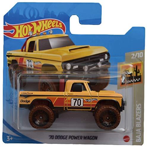 DieCast Hot Wheels '70 Dodge Power Wagon, Baja Blazers 2/10 [Short Card]
