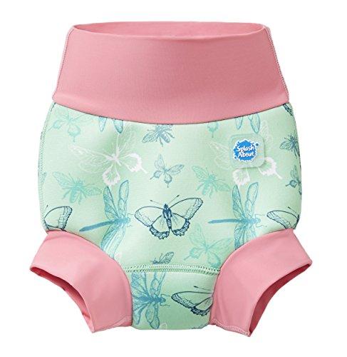 Splash About Unisex-Baby Neue Und Verbesserte Happy Nappy Windel Schwimmen, Dragonfly, 6-12 Monate