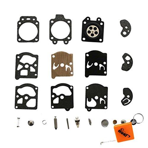 Huri Kit de réparation pour carburateur Walbro WA WT Remplace la référence K10-WAT Convient pour les outils Dolmar 103 105 108 111 Solo 610 Stihl FS40 FS44 FS85 FS88 FS106 FS180