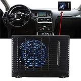 Universal Evaporative Portable Car Fan -12V/35W Portable Mini Cooler Air Conditioning Conditoner Water