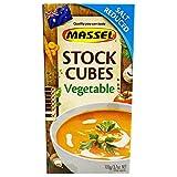 Massel Stock Ultra Cubes 105 g (estilo vegetal reducido de sal, 4 unidades)