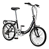 Best Folded Bikes - Schwinn Loop Adult Folding Bike, 20-inch Wheels, Rear Review