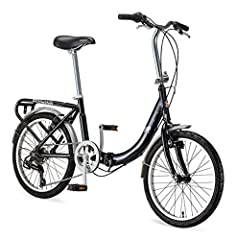 Discover the convenience and utility of the schwinn loop adult folding bicycle; in just a few easy steps, this brilliant device folds out to a bike that's big enough to accommodate a six foot rider Great for camping or RV this durable steel bike pack...