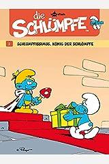 Die Schluempfe 02. Schlumpfissimus, Koenig der Schluempfe ハードカバー
