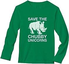 Best TeeStars - Save The Chubby Unicorns Rhino Funny Long Sleeve T-Shirt Review