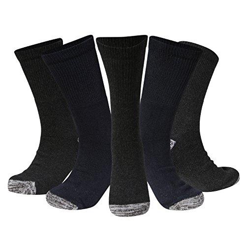 Kensington® Men's Work Socks Cotton Multipack Size 6-11 Thick Boot Sock...
