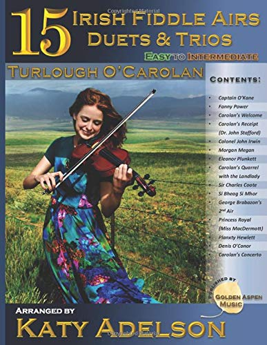 15 Irish Fiddle Airs - Duets and Trios: Turlough O'Carolan - Easy to Intermediate
