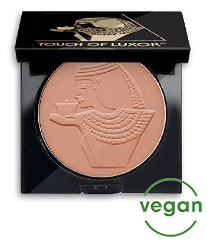 Cutifem Touch of Luxor Compact Puder No. 2 Light Brown Terracotta Matt - Pflegendes, Veganes Make-Up...