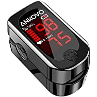 ANKOVO Blood Oxygen Saturation Monitor with Pulse Rate & Heart Rate Monitor
