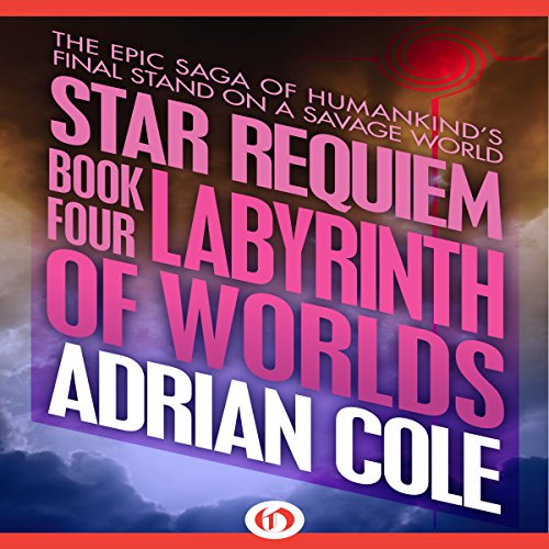 Labyrinth of Worlds audiobook cover art