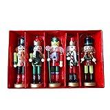 Yunt Navidad Cascanueces Adornos Muñecas, Navidad Marioneta Soldado Cascanueces Adornos Decoraciones...
