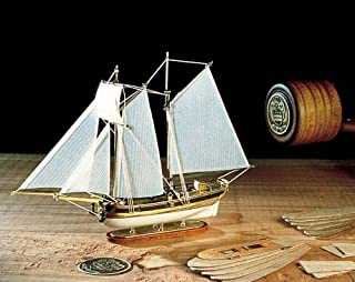木製帆船ボトルシップキット アマティ AM1355 ハンナ (ボトル・和訳付き)