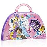 Disney Prinzessinnen Buntstifte Set, Malkoffer Kinder, Wasserfarben und Filzstifte Set, Kinder...
