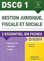 DSCG 1 - L'essentiel en fiches (2018-2019) de Véronique Roy