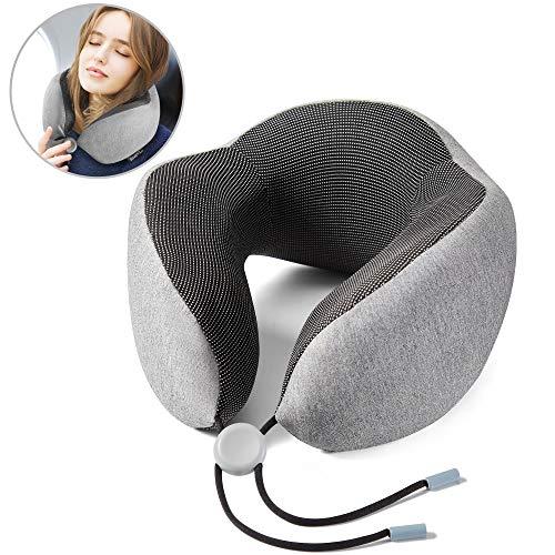 Renook Travel pillow-100% Pure Memory Foam Neck Pillow.