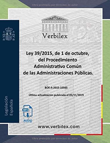 Ley 39/2015 de Procedimiento Administrativo Común de las Administraciones Públicas.: Audio descargable en MP3.